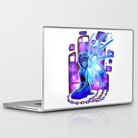 steven universe Laptop & iPad Skins featuring Steven Universe- Lapis Lazuli by prpldragon