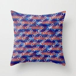 Chicago on my mind (diagonal)2 Throw Pillow