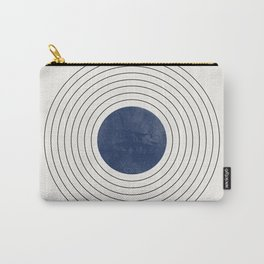 Geo Blue Balance Carry-All Pouch