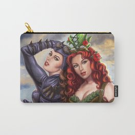Steampunk Poison Ivy and Batgirl Carry-All Pouch
