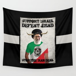 Stop The Iran Deal Wall Tapestry