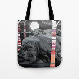 Sweet Dreams Ursus Arctus  Tote Bag