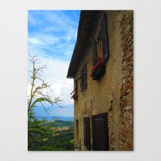Shutters of Tuscany Canvas Print