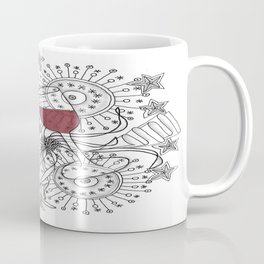 Zentangle Celebrate Everything Coffee Mug