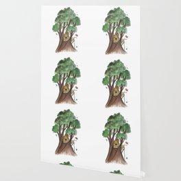 Tree house Wallpaper