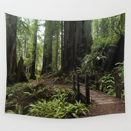 Redwood Roaming - California Wanderlust Wall Tapestry