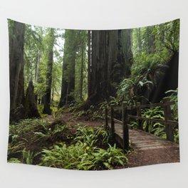 Redwood Roaming - California Wanderlust Wall Tapestry