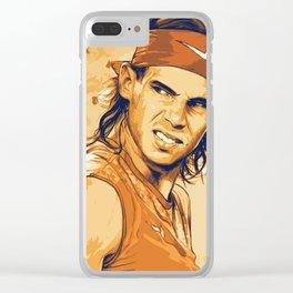 rf, roger federer, roger, federer, tennis, wimbledon, grass, tournament, ball, legend,  Illustration Clear iPhone Case