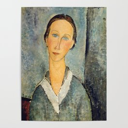 """Amedeo Modigliani """"Girl in a Sailor's Blouse"""" Poster"""