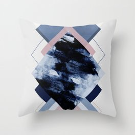 Geometric Textures 11 Throw Pillow