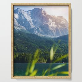 Grass Mountain View (Color) Serving Tray