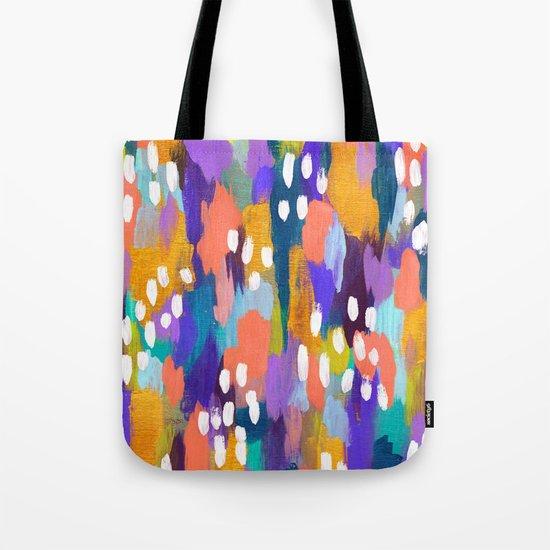 Jules - Abstract Tote Bag