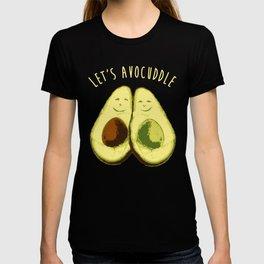Let's Avocuddle   |  Cute Avocado Couple T-shirt