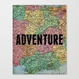 Adventure Print Canvas Print