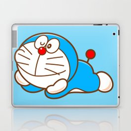 Doraemon cute smile Laptop & iPad Skin