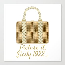 Picture it, Sicily Canvas Print