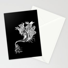 Scary Thoughts II Stationery Cards