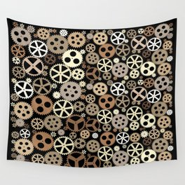 Gear - Gear Steampunk Wall Tapestry