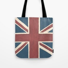 Rusted Union Jack Tote Bag