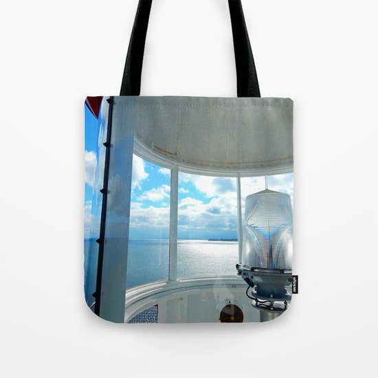 Souris Lighthouse View from the Top Tote Bag