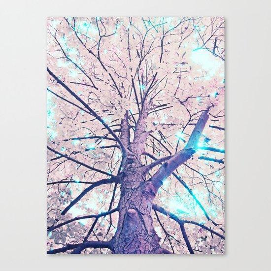 Lightfull Trees Canvas Print