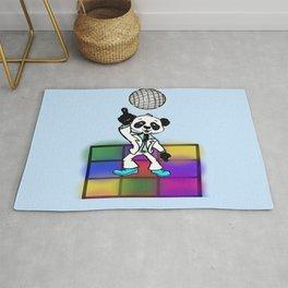 Groovy Disco Panda Rug
