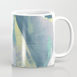 Peach in hand. Coffee Mug