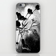 Poppies Flowers, Effervescence iPhone & iPod Skin