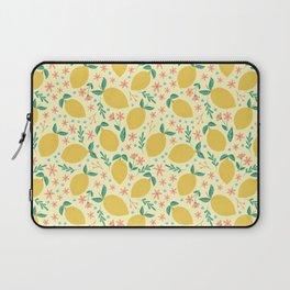 Mellow Yellow Lemons Laptop Sleeve