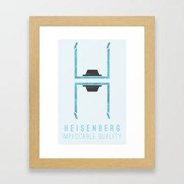 Breaking Bad: Heisenberg - Impeccable quality Framed Art Print