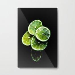 lemon lima Metal Print