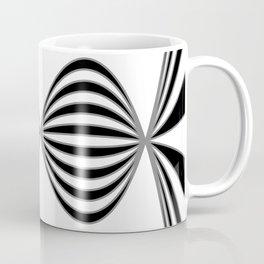 Fractal Wave Abstract Lines Coffee Mug