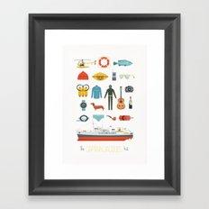 The Captain Jacques Kit Framed Art Print