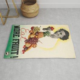 Vintage poster - Eat more fruit Rug