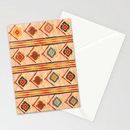 Southwestern Motif in Beige Stationery Cards