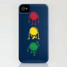 stop,ready,go! iPhone (4, 4s) Slim Case