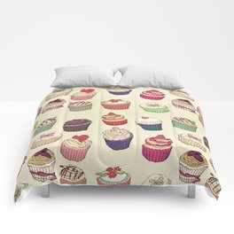 Margery's Lil Cupcake Shop Comforters