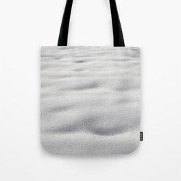 Texture #9 Snow Tote Bag