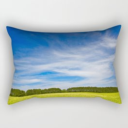Wye Island Sky Field - Eco Harmony Rectangular Pillow