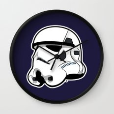 Trooper Bucket - Star Wars Wall Clock