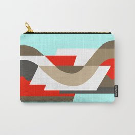 SUISSE - Art Deco Modern: SIXTIES OFFICE Carry-All Pouch