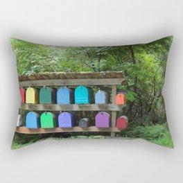 Mailboxes Rectangular Pillow