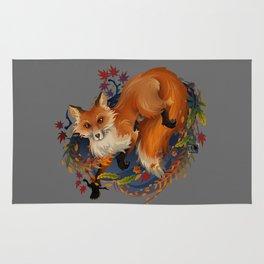Sly Fox Spirit Animal Rug