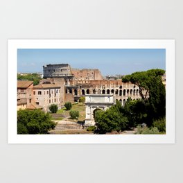 The Coliseum Rome Art Print