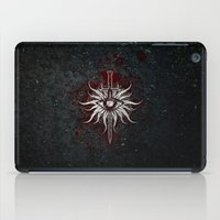 dragon age inquisition iPad Cases featuring The Inquisition by Toronto Sol