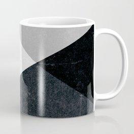 Geometrics - marble & silver Coffee Mug