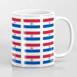 flag of paraguay 2 -paraguyan,asuncion,spanish, south america, latin america,pan flute,coffee,forest Coffee Mug