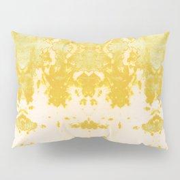 Kumo Ikat Turmeric Pillow Sham