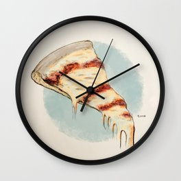 A Slice of Joe's Pizza Wall Clock
