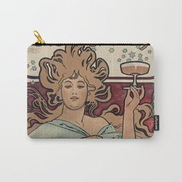 Ruinart Champagne / Alphonse Mucha Carry-All Pouch